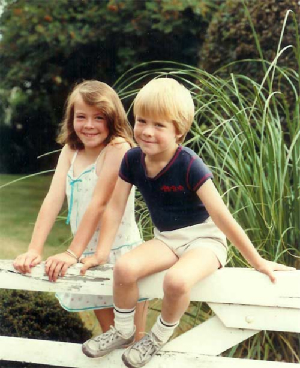 Caroline and James, Wells c1983